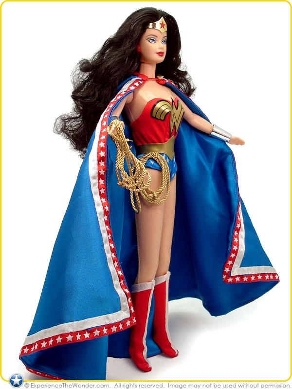 Mattel Barbie Dc Comics Collector Edition Doll Wonder