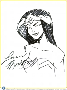 2009-DC-Universe-Animated-Original-Movie-Wonder-Woman-Sketch-by-Lauren-Montgomery-001