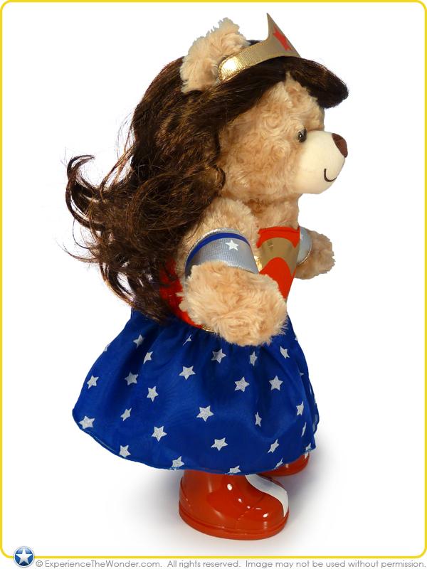 Build A Bear Workshop Dc Comics Happy Hugs Teddy In Wonder