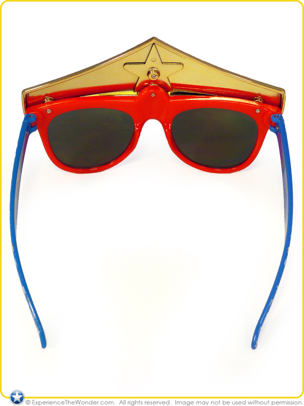 Wonder Woman Sunglasses  sun staches dc comics super e shades novelty character