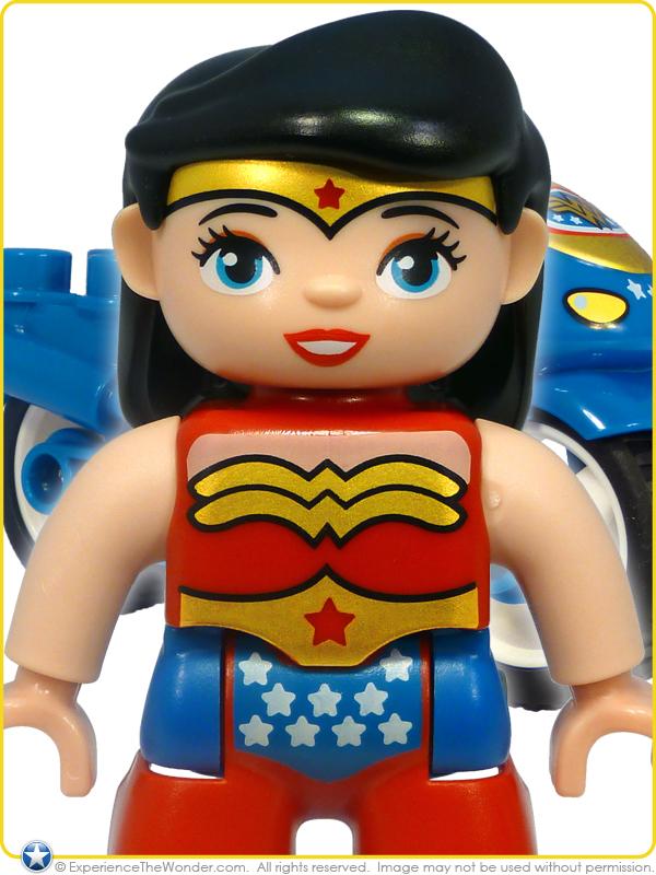 lego duplo dc comics super heroes batman adventure 10599 playset figure vehicle wonder woman motorbike