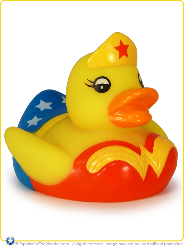Walgreens Dc Comics Justice League Flashing Rubber Ducky