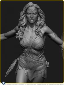 2016-Moebius-Models-DC-Comics-BvS-8th-Scale-Figure-Kit-Gal-Gadot-as-Wonder-Woman-Concept-001