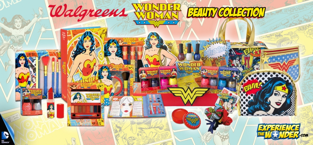 Wonder Woman To Electrify Beauty Lovers With Powerful New Cosmetics U0026 Accessories Collection ...
