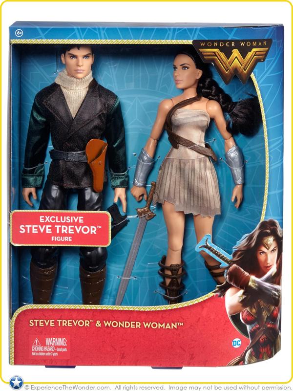 Mattel Dc Comics Wonder Woman Movie Fashion Doll 2 Pack