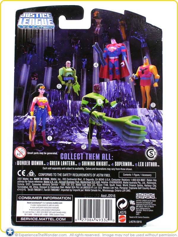 Mattel Dc Super Heroes Justice League Unlimited The