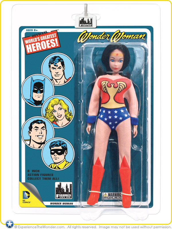 BRUCE WAYNE DC Collectibles World/'s Greatest Heroes Retro Figure Series 2 2014