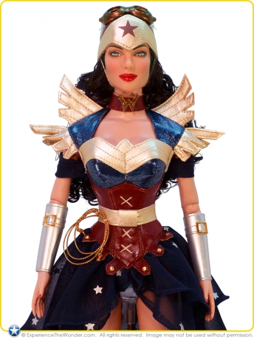 Beauty And The Beast Collectibles >> Tonner DC Stars Collection Character Figure Doll – Wonder Woman (Steampunk#1 ...