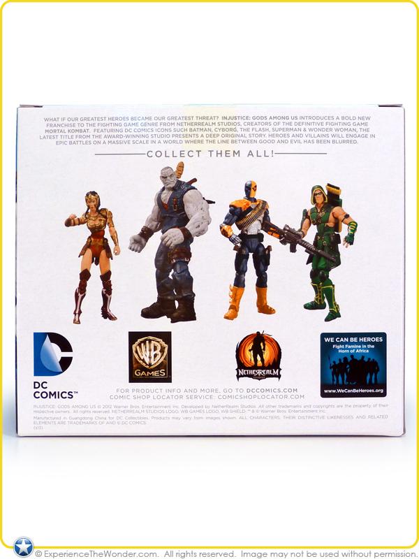 SOLOMON GRUNDY DC Direct Injustice Gods Among Us Figures 2013 WONDER WOMAN vs
