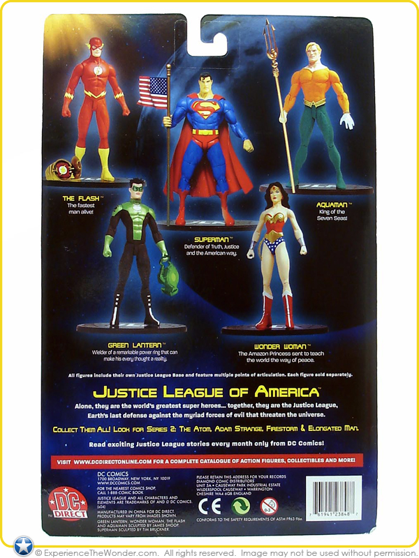 2003 DC Direct Justice League of America Justice League America Series 1 Green Lantern Figure