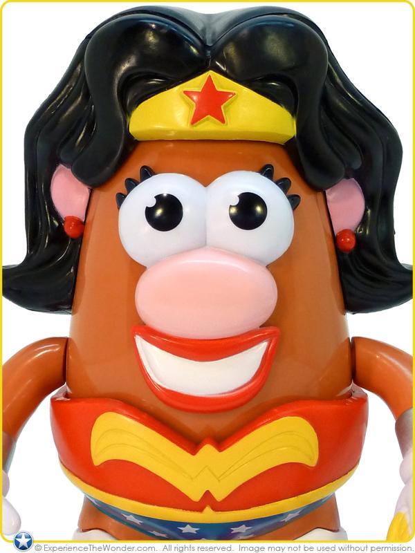 Ppw Toys Dc Comics Mrs Potato Head Wonder Woman