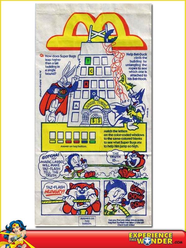 Mcdonald S Happy Meal Premium Super Looney Tunes