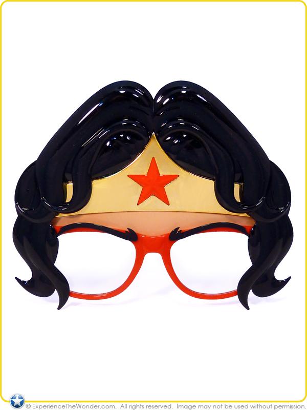 b6fe2f77d98b0 Sun-Staches DC Comics Super Hero Shades Novelty Character Costume ...