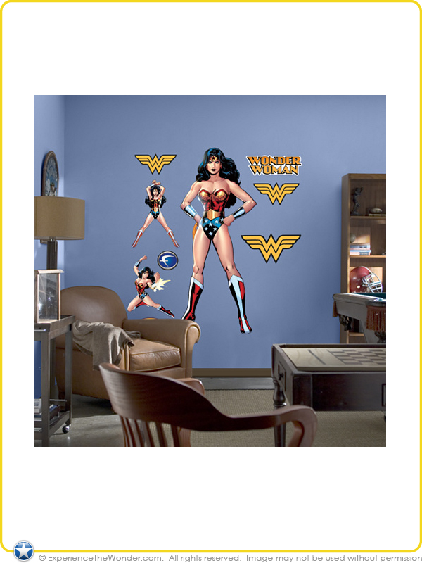 Fathead Dc Comics Justice League Life Sized Wall Graphic