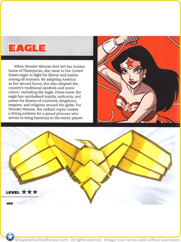 2015 Capstone DC Comics Super Heroes Origami Featuring