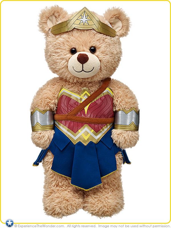Build A Bear Superman Coustume