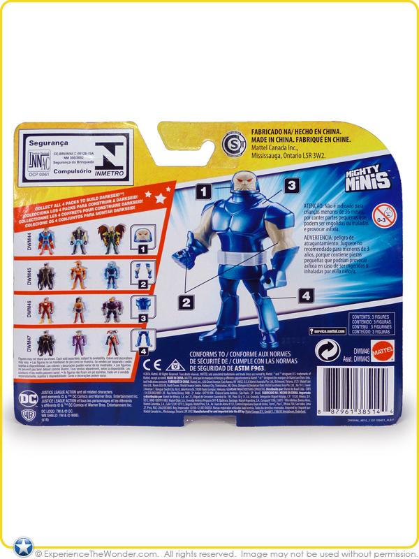 mattel dc comics justice league action mighty minis series 1 mini action figure wonder. Black Bedroom Furniture Sets. Home Design Ideas