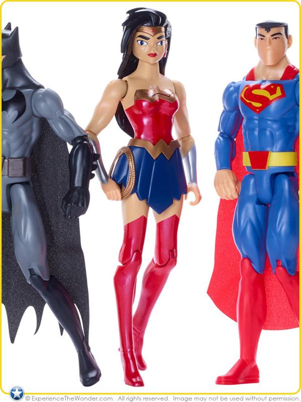 """12/"""" DC Justice League Action Wonder Woman Action Figure"""