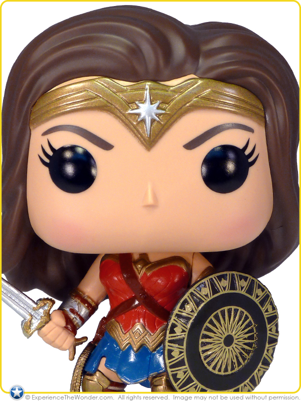 Etta With Sword and Shield Wonder Woman POP Vinyl