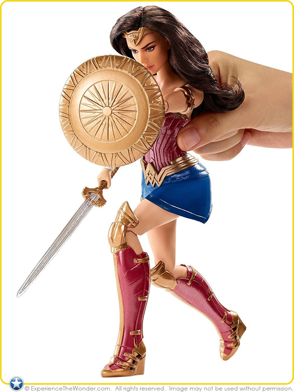 Mattel Dc Comics Wonder Woman Movie Deluxe Doll Gal