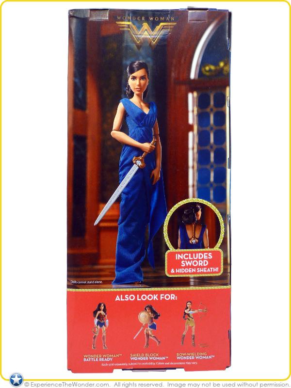 Mattel Dc Comics Wonder Woman Movie Fashion Doll Gal