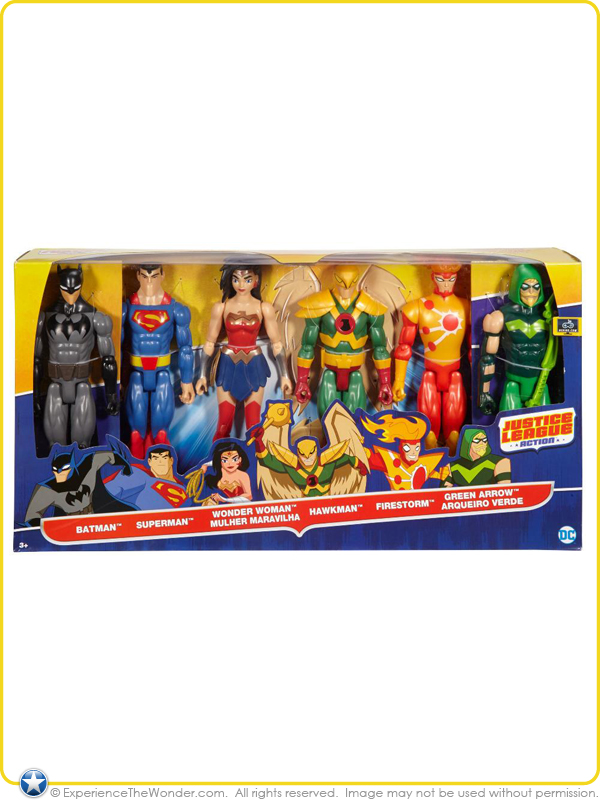 DC Justice League Action Hawkman 12 Inch Action figure JLA