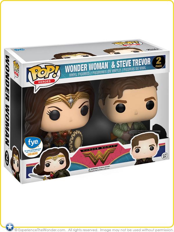 Vinyl--Wonder Woman Movie Pop Vinyl Steve Trevor Pop