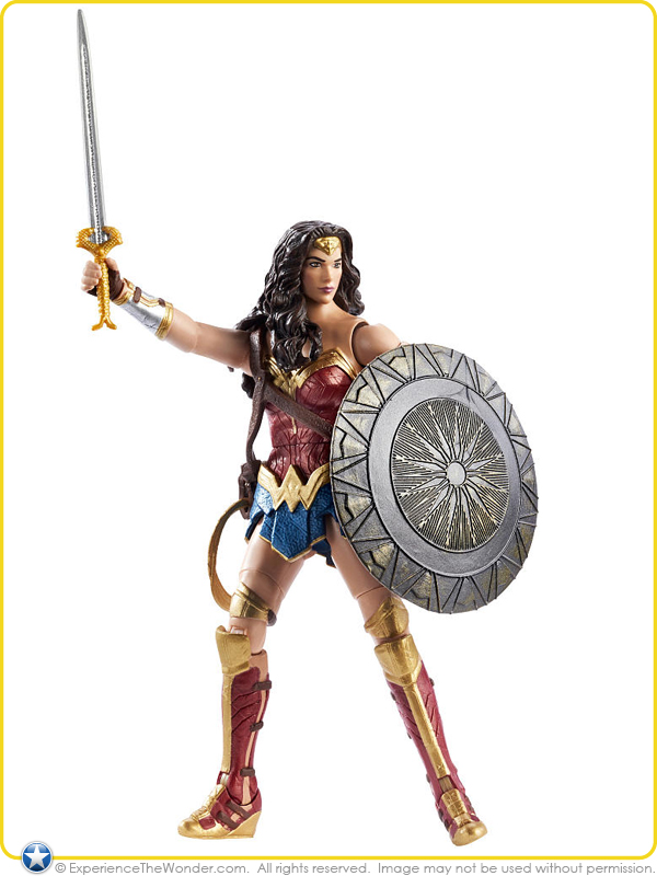 Mattel Dc Comics Multiverse Wonder Woman Movie Masters