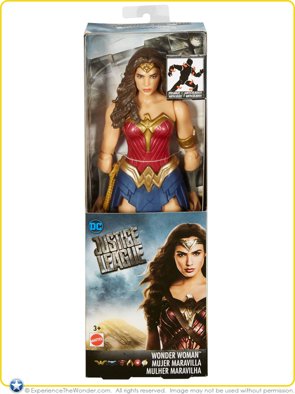 Mattel Dc Comics Justice League Movie Basic Action Figure Gal Gadot Woman Lego