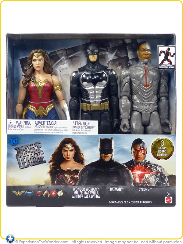 DC COMICS JUSTICE LEAGUE MOVIE SERIES PARADEMON ACTION FIGURE MATTEL