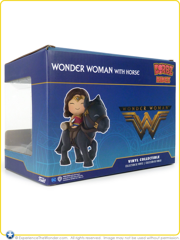 Funko Dorbz Ridez DC Wonder Woman with Horse Vinyl Collectible Figure *new*