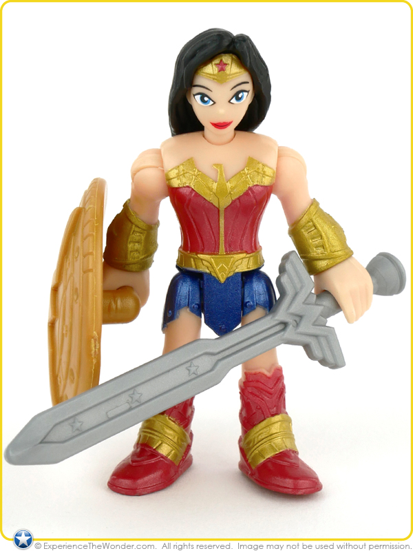 Imaginext Wonder Woman Ares /& Battle Action Figure Pack Fisher-Price