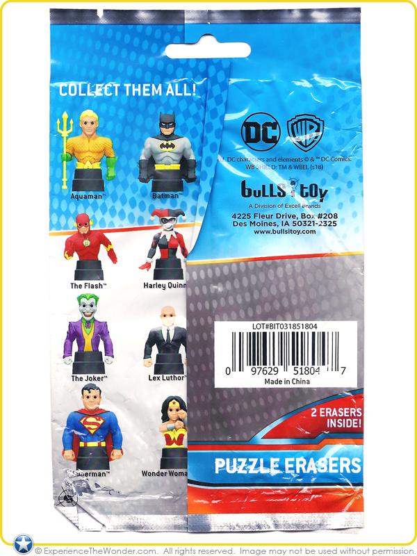 Bulls I Toy Dc Comics Justice League Puzzle Erasers Mini